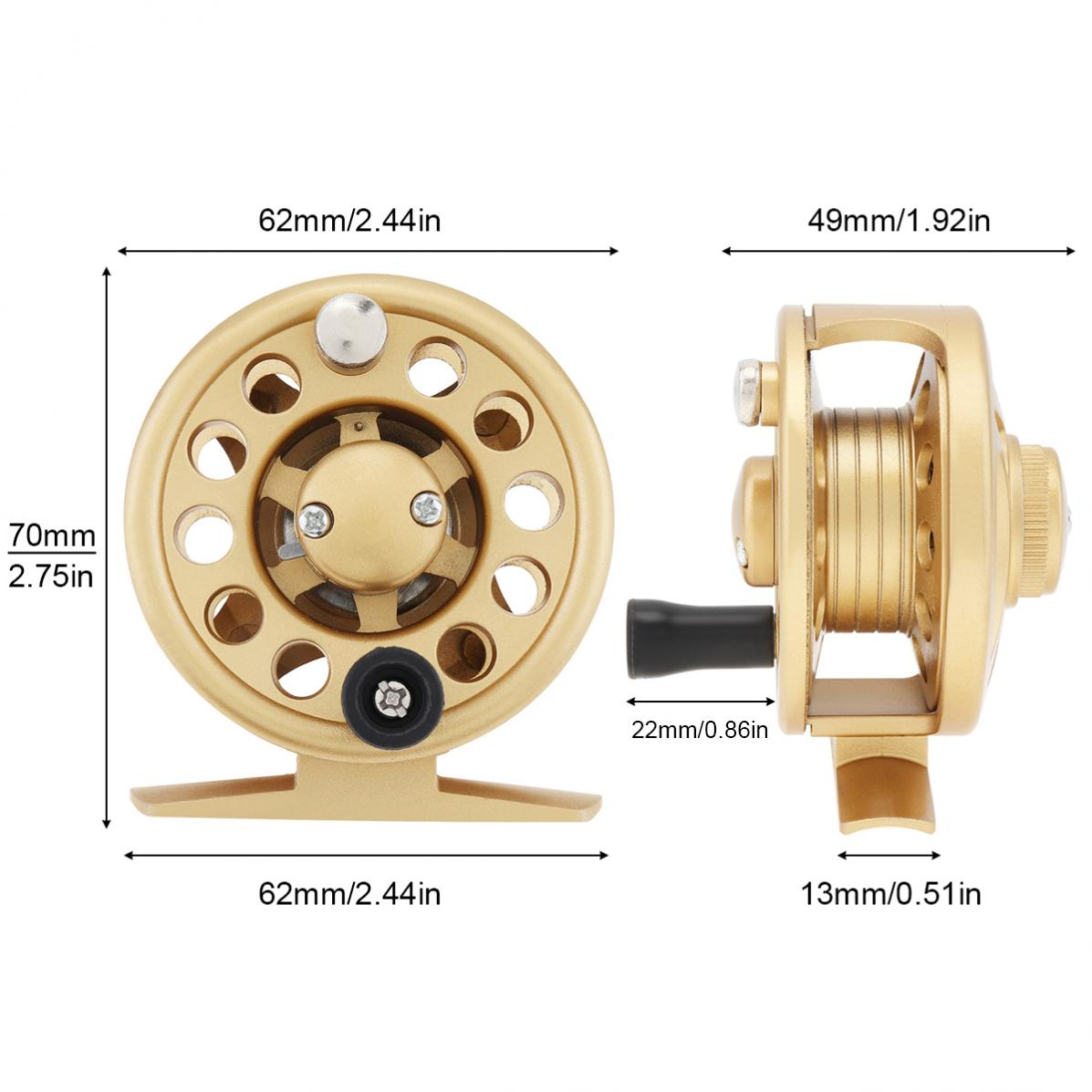 Fishing Reel 1+1BB Ultralight Smooth Powerful Spinning Reels for Freshwater 1pcs