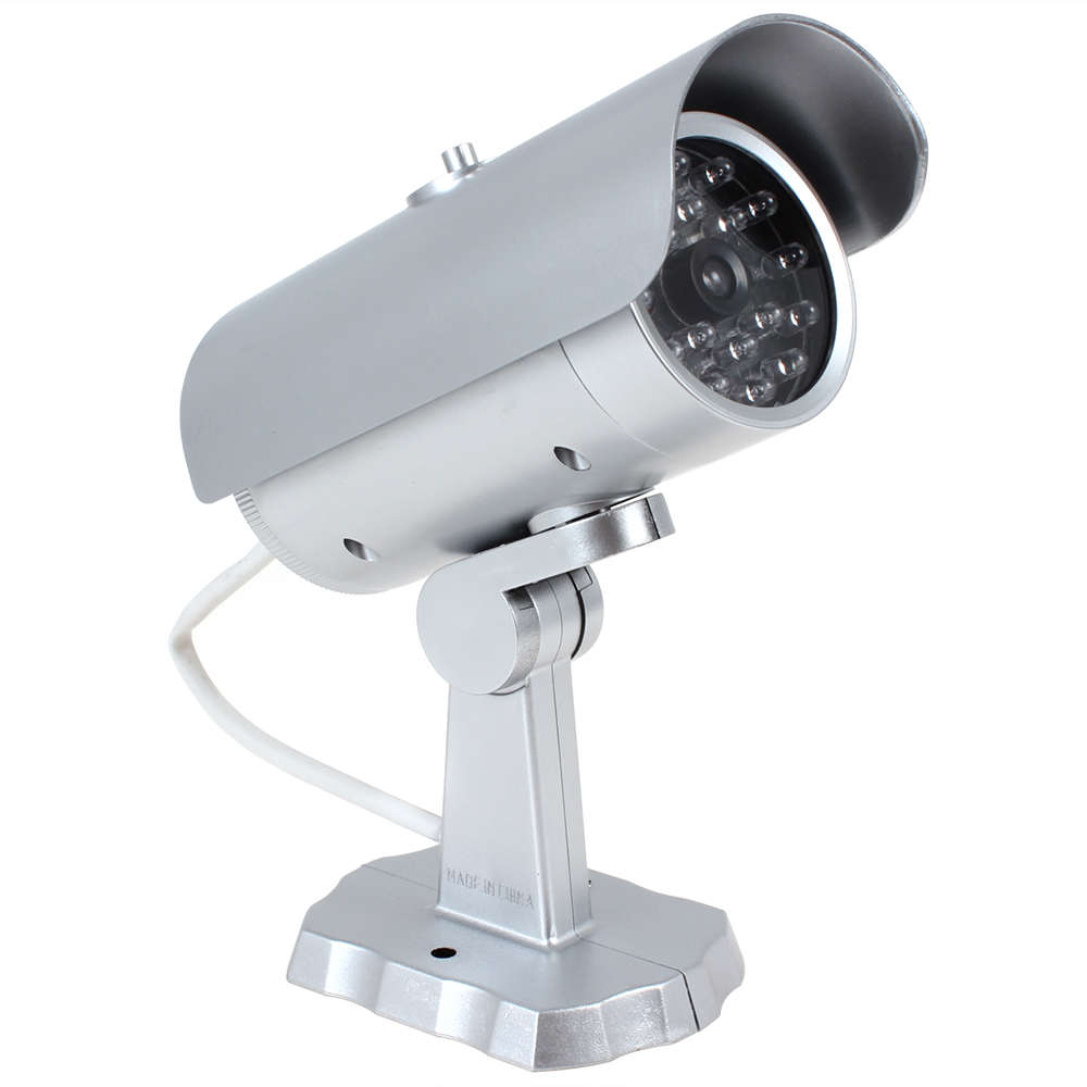Porch Light With Camera: Emulational Fake Dummy CCTV Outdoor Security Camera With
