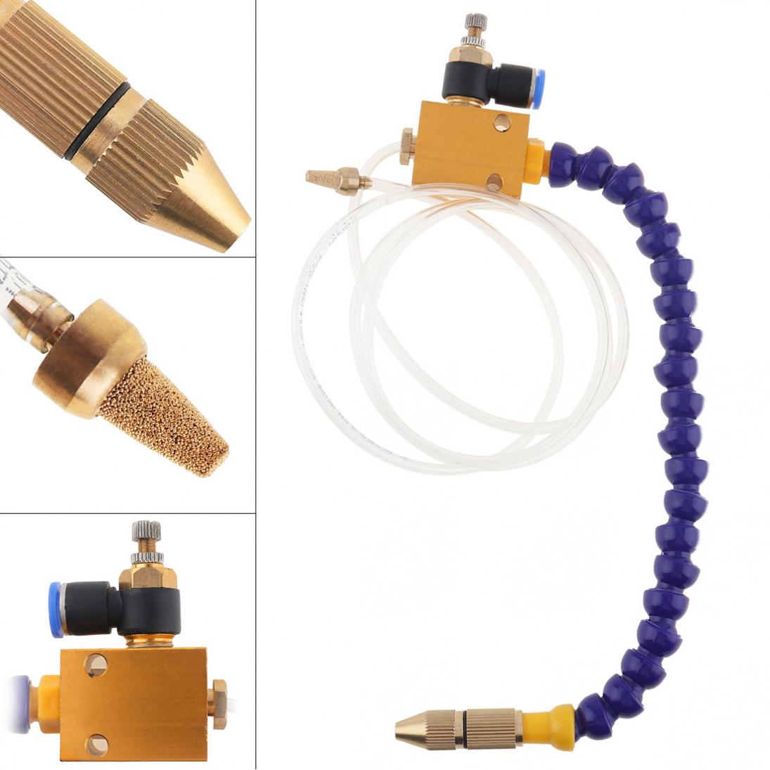 Mist Coolant Lubrication Spray System For 8mm Air Pipe CNC Lathe Mill Drill KHME